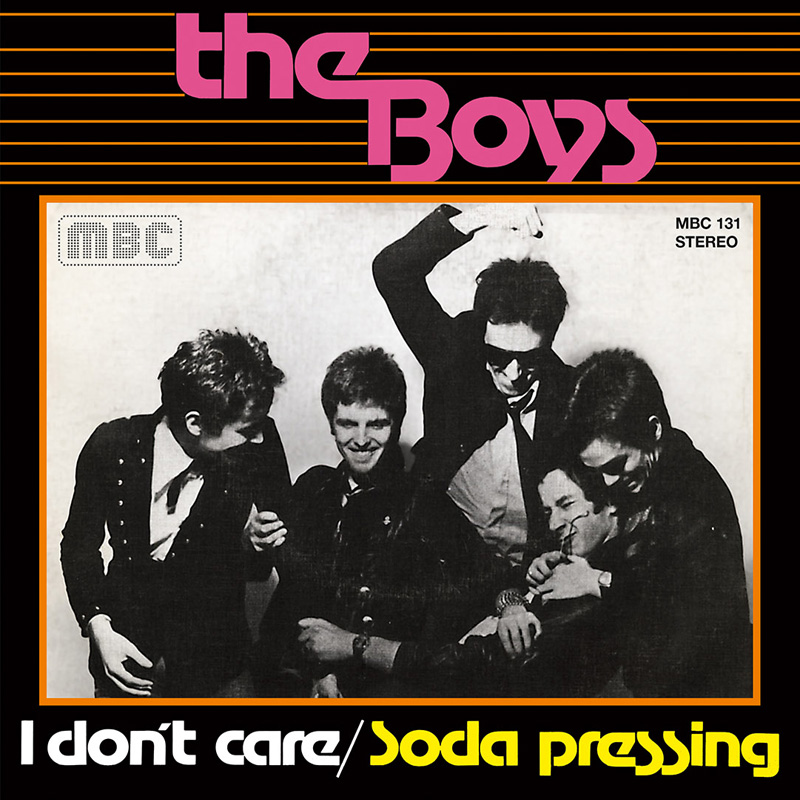I Don't Care / Soda Pressing